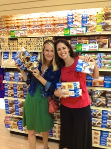 Tastykakes are only sold on the East Coast, so I bought like 50 boxes. Kristen stocked up on butterscotch.